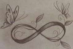 butterfly infinity symbol tattoo - Google Search