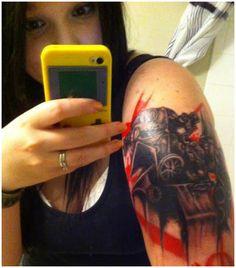 fallout tattoos girls