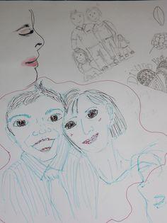Sketch Book Doodles - Family