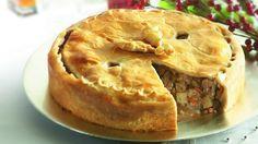 Tourtière à lérable   Pork Pie with Maple Syrup
