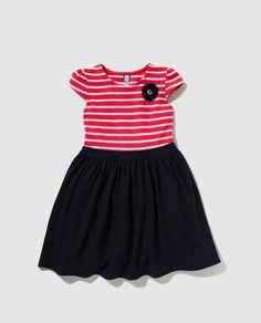 Vestido de niña Freestyle de rayas
