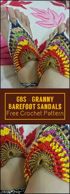 Crochet Barefoot Sandals - 50+ Free Crochet Patterns - Page 7 of 10 - DIY & Crafts