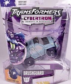 Action Figure Boxes - Transformers: Brushguard