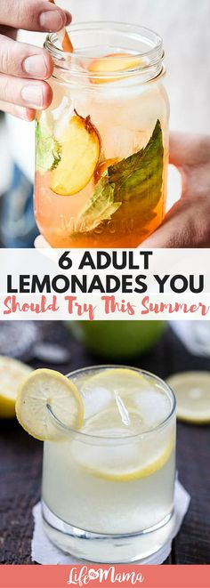 Homemade lemonade, especially, may not be the most sophisticated drink in the world, but it is definitely one of the best. These great recipes blend a summer staple with plenty of delicious alcohol to create lemonade drinks that are just as delicious as they are refreshing.