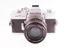 Minolta SR-T 102 / SR-T Super / SR-T 303 SLR camera body and lens