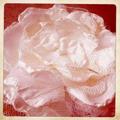 Singed Fabric Flower Tutorial