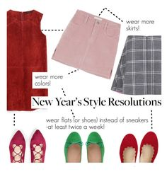 """""""new year's style resolutions"""" by freddarling ❤ liked on Polyvore featuring Zara, Chloé, SWEET BALLERINA, Paul & Joe Sister and styleresolution"""