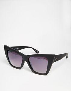 Quay Australia | Quay Australia X Shay Vesper Mirror Cat Eye Sunglasses at ASOS