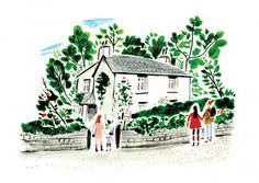 Nina Cosford: charming, vibrant editorial and reportage illustration