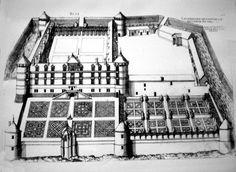Chateau de Bury, 1511  Premier type de chateau fusionnant parfaitement le caractère français et les innovations italiennes. En avance sur son temps ce cas particulier ne fera pas école par la suite.