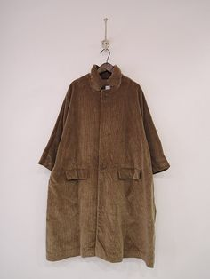 Daniela gregis / Brown coat / Oversize / Toffee