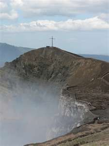 Managua, Nicaragua volcano