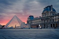 Louvre by Benjamin Becker, via 500px
