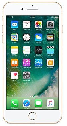 "Apple iPhone 7 Plus 256 GB Oro - Smartphone libre de 5,5"" Retina HD, iOS10, A10 Fusion, cámara dual de 12MP, TouchID, IMPORTADO"