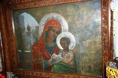 ΟΙ ΑΓΓΕΛΟΙ ΤΟΥ ΦΩΤΟΣ: Προσευχή στην Παναγιά Τσαμπίκα Orthodox Christianity, Religion, Spirituality, Painting, Icons, Painting Art, Symbols, Spiritual, Paintings