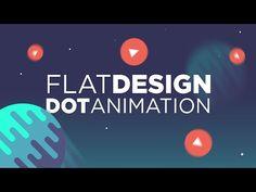 Cinema 4D - Flat Design Dot Animation Tutorial