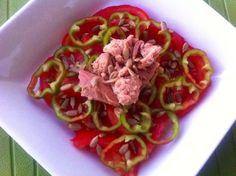 Ensalada mar y huerta! Happy Receta en www.happyfood.es Feliz día! :D