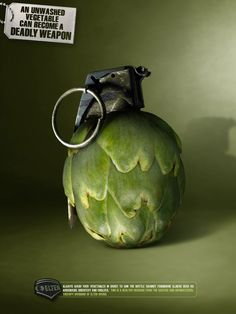 Campaign: An unwashed vegetable can become a deadly weapon - Elter Drugs2