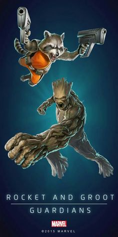 Rocket & Groot Guardians