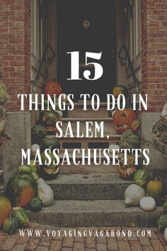 15 Things to do in Salem, Massachusetts: How to Spend a Perfect Day Uncover the real magic of Salem, Massachusetts with these fun activities! Experience the perfect day trip from Boston with these fun things to do in Salem. New England States, New England Travel, England Uk, Day Trips From Boston, Salem Halloween, Boston Vacation, Boston Shopping, Salem Mass, East Coast Road Trip