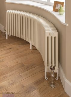 Our new stylish and practical bespoke Ancona® Curved radiator. Made to fit your bay window and curved walls. www.theradiatorco...
