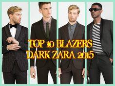 TOP 10 BLAZERS DARK ZARA 2015 2016