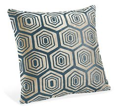 Hive Ink Pillow - Pillows - Accessories - Room & Board  For living room, new couches