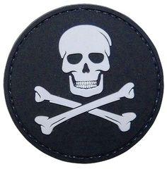 Jolly Roger PVC Morale Patch