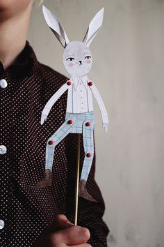 Mer Mag: Atticus the Bunny Paper Toy