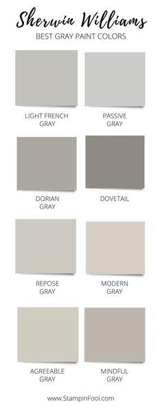 Bedroom Paint Colors, Exterior Paint Colors, Paint Colors For Home, House Colors, Modern Paint Colors, Trending Paint Colors, Cabin Paint Colors, Interior House Paint Colors, Outdoor Paint Colors