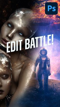Watch two digital artists, Abbey Marie Esparza and Aron Visuals use @photoshop and @envato Elements assets to create sci-fi photo manipulations. Are you ready?