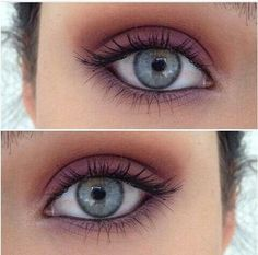 Gorgeous natural eye look
