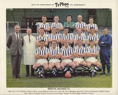 Bristol Rovers team group in Football Kits, Football Cards, Bristol Rovers Fc, English Football Teams, Typhoo, Laws Of The Game, Football Images, Association Football, Most Popular Sports