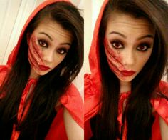 Little Red Riding Hood DIY Halloween Costume! + Make your own cape ...