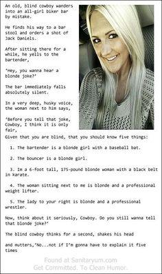 a blond joke bout a blonde joke!!!