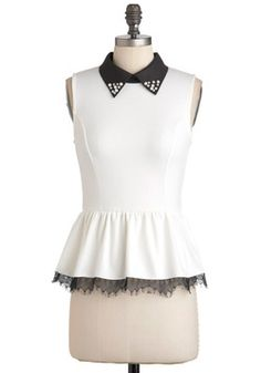 Harp Performance Top, (can i get it without the bedazzledness?) #ModCloth