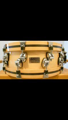 Recent ebay snag. 5.5 x14 Ayotte wood hoop snare