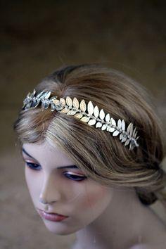 Bridal Headband Hair Accessories Wedding Head band by simplychic93, $62.00