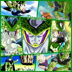 Perfect Cell From Dragon Ball Z Enjoy The Perfection Wallpaper Grid