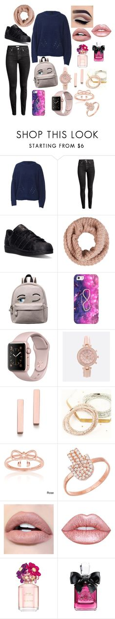 """""""Autumn Comfy Sweater"""" by beauty4mommys on Polyvore featuring adidas, Accessorize, Casetify, Avenue, Kristen Elspeth, Lisa Angel, La Preciosa, Lord & Taylor, Lime Crime and Marc Jacobs"""