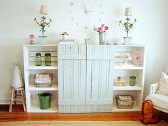 Faded Plains: a farmhouse t.v. armoire