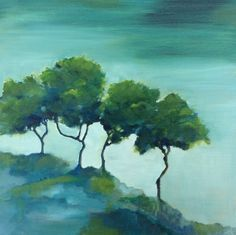 Skyline, Pastel, Trees, Portrait, Painting, Drawings, Cake, Headshot Photography, Tree Structure