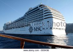 Download this stock image: MSC Musica cruiseship - DD5K9B from Alamy's library of millions of high resolution stock photos, Stock Photo, illustrations and vectors. Vectors, Boats, Illustrations, Stock Photos, Image, Musica, Ships, Illustration, Boat
