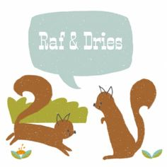 Hip geboortekaartje Raf en Dries - CV voor