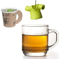 TEA INFUSER - TEA SHIRT GREEN