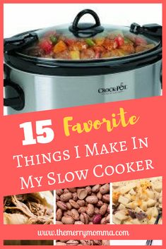 January is National Slow Cooking Month! Discover 15 of my favorite things to make in my slow cooker. Plus find 150+ recipes and tips!