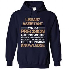 LIBRARY ASSISTANT AWESOME DESIGN T-Shirts, Hoodies, Sweatshirts, Tee Shirts (34.95$ ==> Shopping Now!)