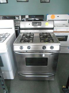 Appliance City Tappan Inch Gas Range Burner Broiler On
