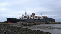 Duke Of Lancaster and beach - Stock Footage | by MSVRVisual