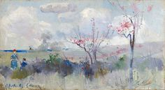 Herricks Blossoms by Charles Conder | Art Posters
